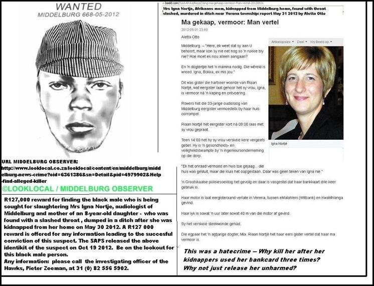 Nortje Igna May302012 Middelburg Murder IDENTIKIT SUSPECT OCT202012
