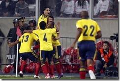 Colombia le ganó a Perú