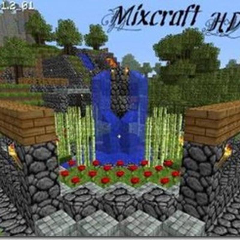 Minecraft 1.2.4 - Mixcraft HD Texture Pack 1.2.4 Mod (Map HD)