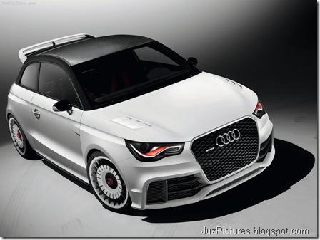 Audi A1 clubsport quattro Concept2