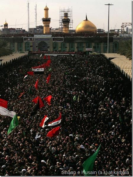 Shiites Gather Ashura Festival Karbala VtQTrkcJcpml