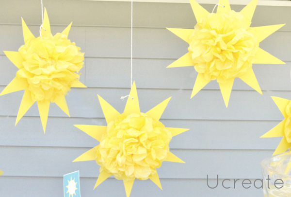 How to Make a Sun Pom Pom
