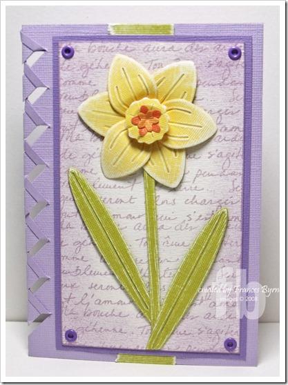 Sizzix Daffodil