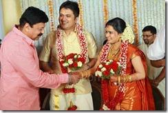 Balachandra Menon daughter Bhavana marriage pic