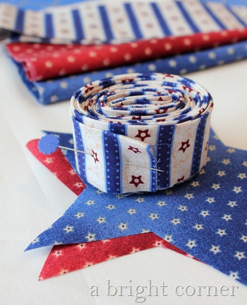 patriotic sewing