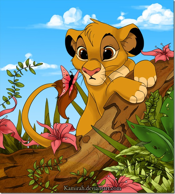El Rey León,The Lion King,Simba (5)