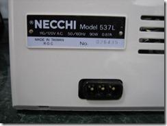 Necchi 537L 005