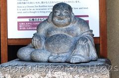 Glória Ishizaka - Higashiyama - Estátua HOTEI - Kyoto 2012 - 1