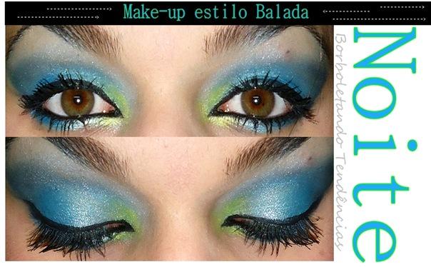 Make azul e verde