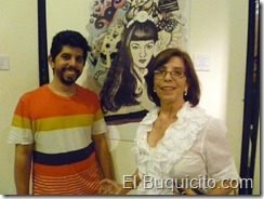 joel y su madre alexandra