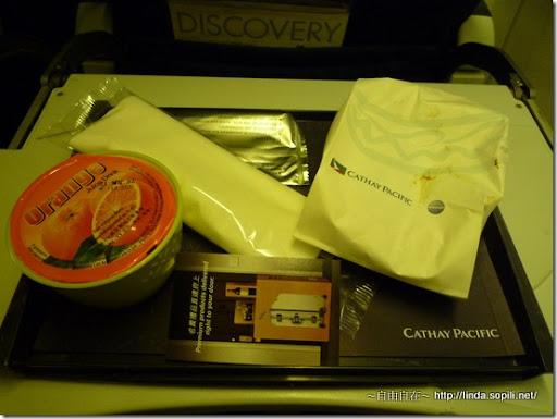 回程-飛機餐