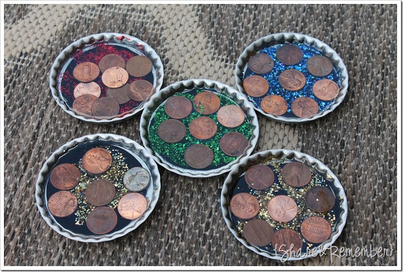 Father's Day Penny Coasters