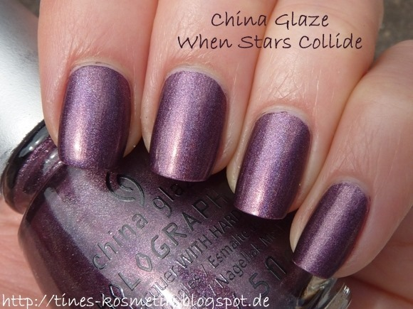 China Glaze When Stars Collide 3