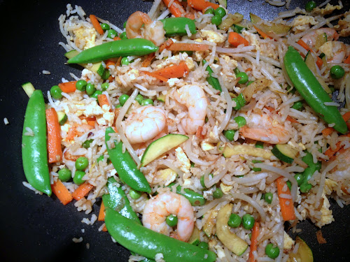 Ute cooks: LEFTOVERS EGG FRIED RICE