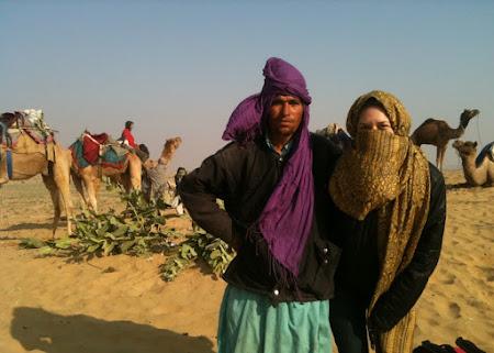 Desert India langa Jaisalmer