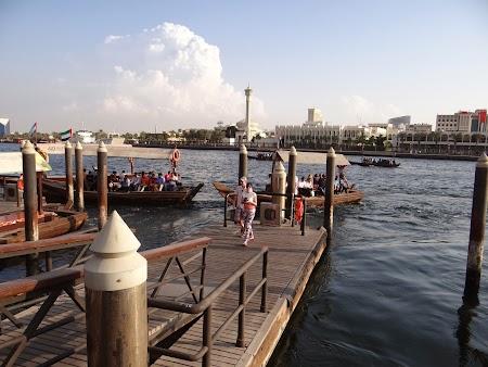 Obiective turistice Dubai: Statia de abra Deira
