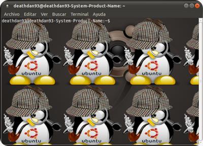 terminal personalizar