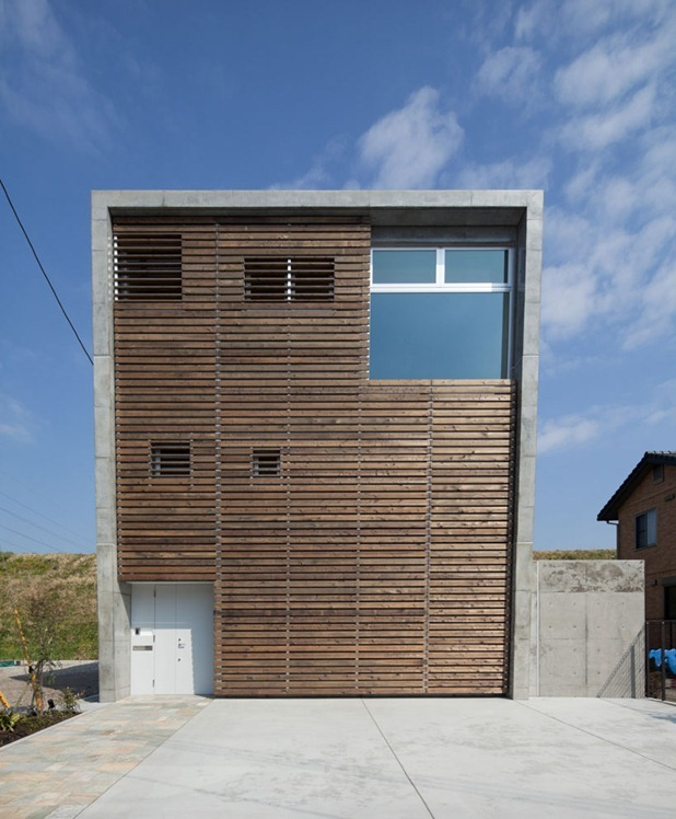 house in fuji by level architects 2