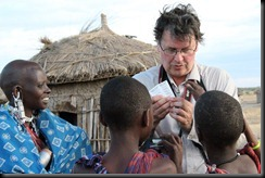 October 23, 2012 Stephen with kids