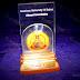 AUB Alumni Dubai trophy with medal. www.medalit.com - Absi Co