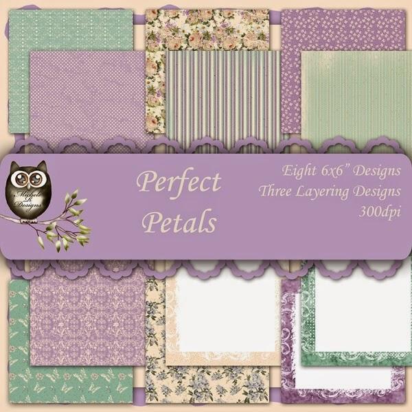 Perfect Petals Front Sheet