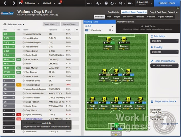 FM 2014 Best Features