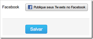 Publique seus Tweets no Facebook