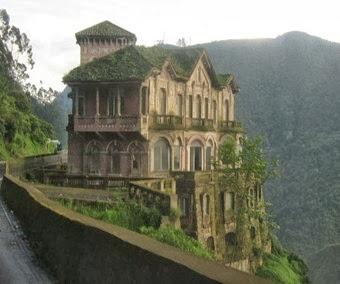 Hotel del Salto na Colômbia reformado
