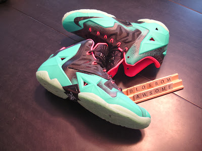 nike lebron 11 id production south beach 2 01 Nike LeBron XI iD South Beach Build by Awsome Blossom