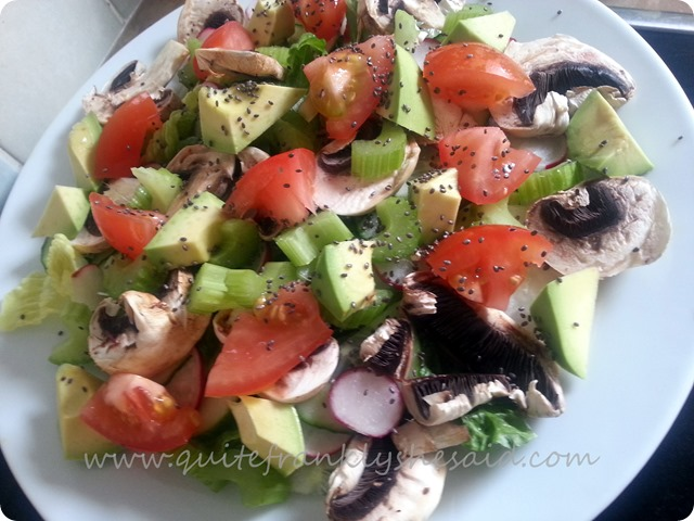 Chia seeds salad