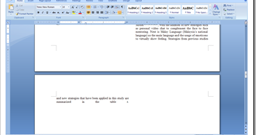 how to delete the last blank page in word