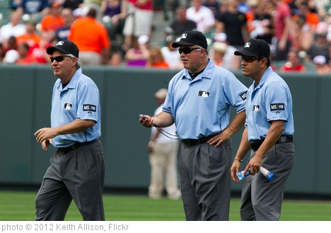 'umpires' photo (c) 2012, Keith Allison - license: http://creativecommons.org/licenses/by-sa/2.0/