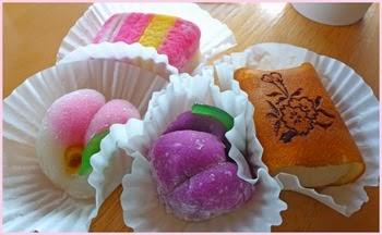 japanese tea cakes