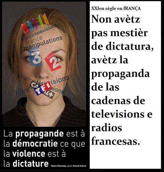 manipulacion francesa per la television