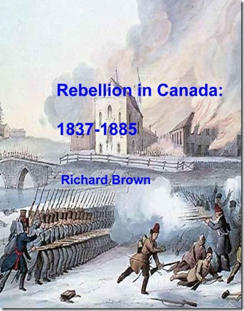 Canadian rebellions 1
