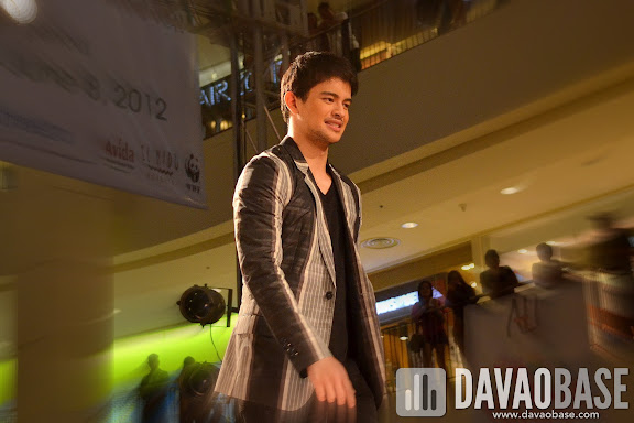 Rayver Cruz during the Mensweek Fashion Show at Abreeza