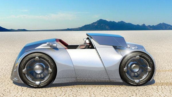 Automotive Concept from John Villarreal is an attempt to envision where automotive design might go in the future