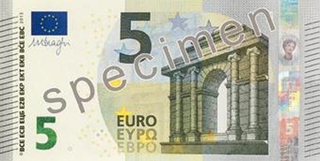 Κυκλοφορεί σήμερα το νέο χαρτονόμισμα των 5 ευρώ – Τα σημεία ασφαλείας που πρέπει να προσέξετε