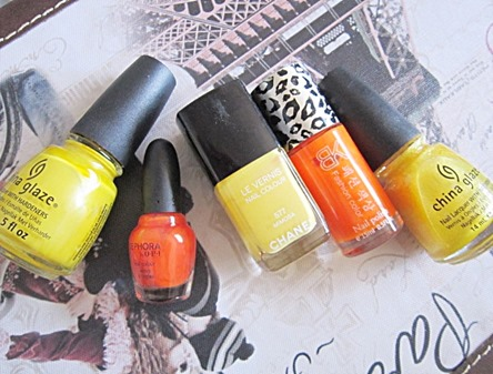yellows and oranges, bitsandtreats