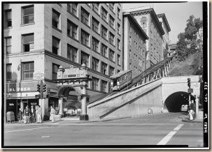 October_2,_1960_LOWER_STATION_-_NORTHEAST_ELEVATION_-_-Angels_Flight-,_Third_and_Hill_Streets,_Los_Angeles,_Los_Angeles_County,_CA_HABS_CAL,19-LOSAN,13-1