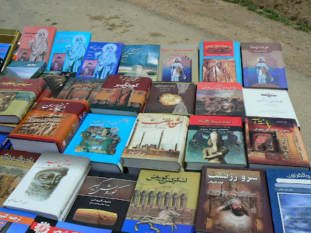 Things to buy in Persepolis: Books on offer