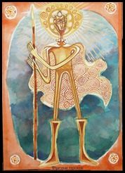 Lugh Altar Card