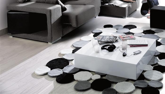 Decoración con alfombras. un complemento muy cálido para tu casa