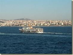 Ship traffic on the Bosphorus (Small)
