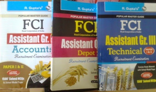 FCI assistant grade book reviews,FCI assistant grade III general book, FCI assistant grade III depot book,FCI assistant grade III techncial book,FCI assistant grade III accounts book,FCI Exam Books Review
