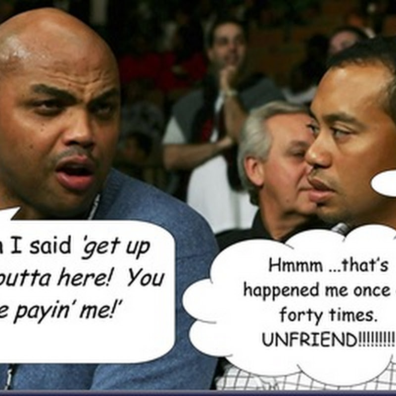 Holier Than Thou Charles Barkley Says He's Not Friends With Tiger