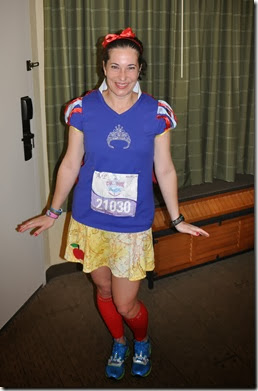 Princess Half Marathon Snow White