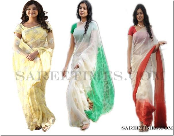 samantha in sarees from ye maaya chesave sareetimes