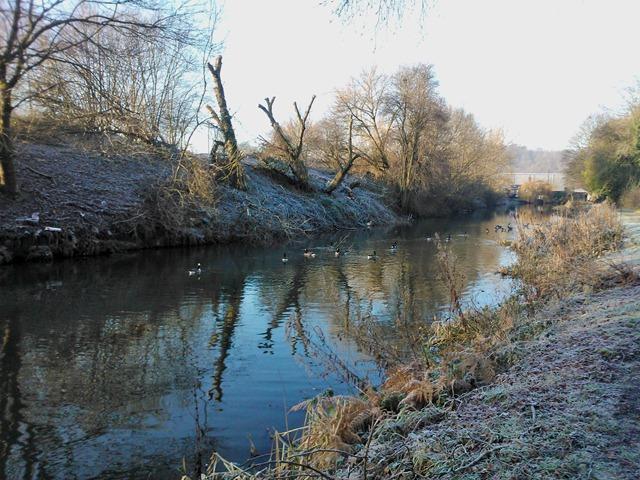 Frosty Canal walk