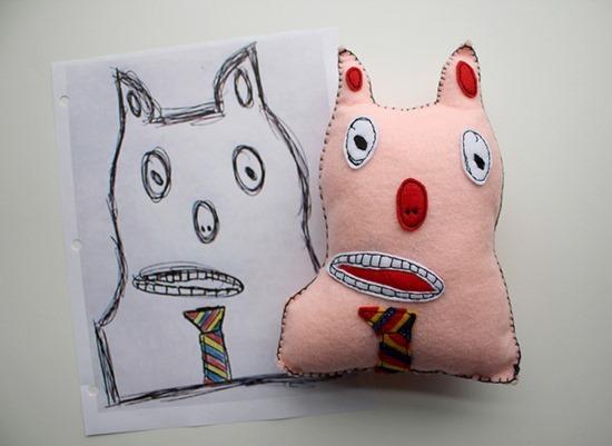 Brinquedos de desenhos de crianças (2)